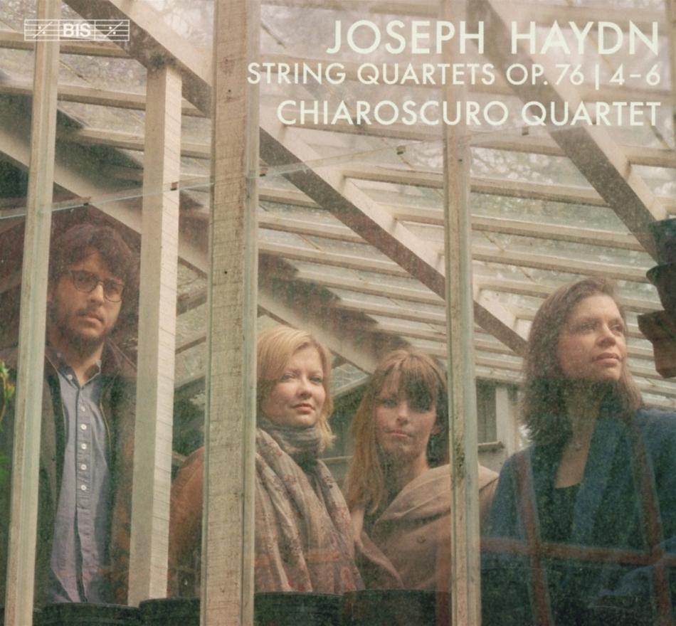 Chiaroscuro Quartet & Joseph Haydn (1732-1809) - String Quartets Op. 76 / 4-6 (Hybrid SACD)