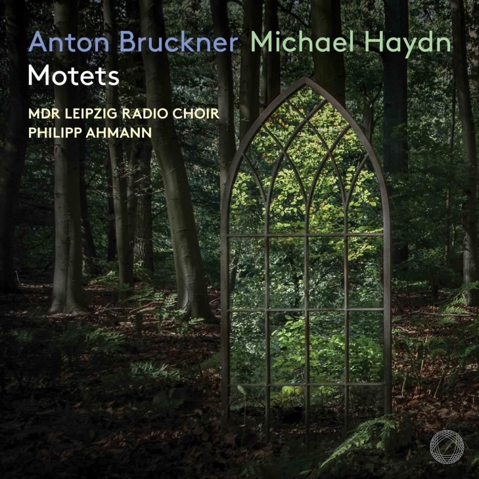 MDR Leipzig Radio Choir, Anton Bruckner (1824-1896), Michael Haydn (1737-1806) & Philipp Ahmann - Motets (Hybrid SACD)