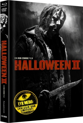 Halloween 2 (2009) (Cover E, Limited Edition, Mediabook, Blu-ray + DVD)
