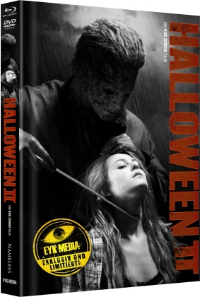 Halloween 2 (2009) (Cover F, Limited Edition, Mediabook, Blu-ray + DVD)