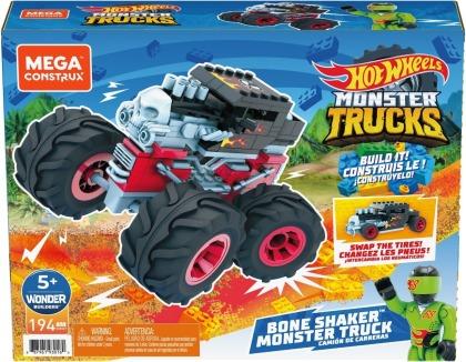 Mega Construx Hot Wheels Monster Trucks Bone Shaker