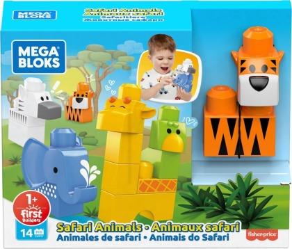 Mega Bloks Safari Tiere