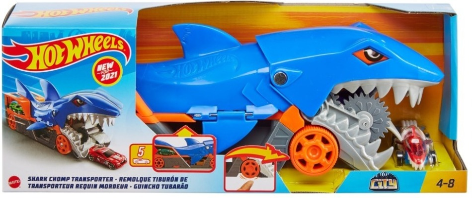 Hot Wheels Hungriger Hai-Transporter