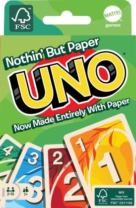 UNO 100% Papier Kartenspiel (Spiel)