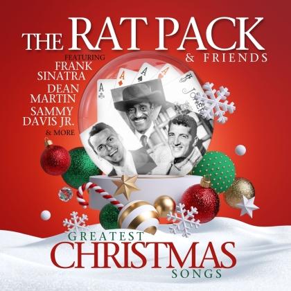 The Rat Pack, Frank Sinatra, Dean Martin & Sammy Davis Jr. - The Rat Pack - Greatest Christmas Songs (LP)