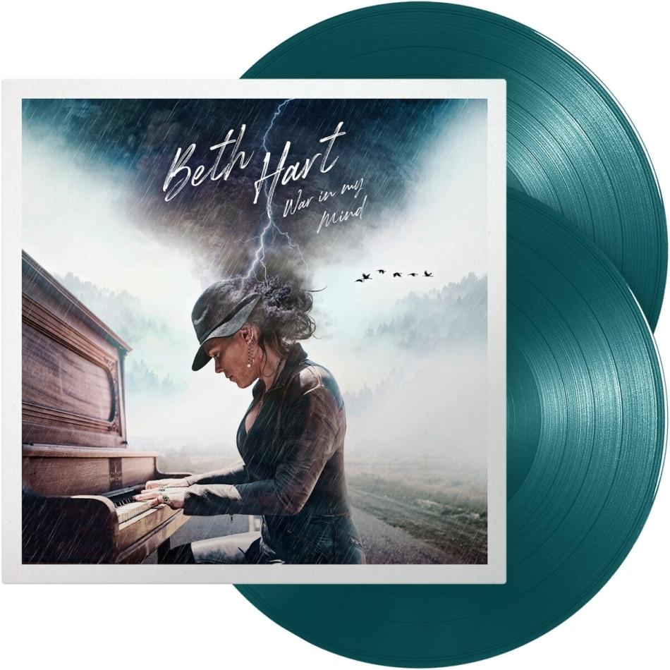 Beth Hart - War In My Mind (2021 Reissue, Provogue, Green Blue Vinyl, 2 LPs)