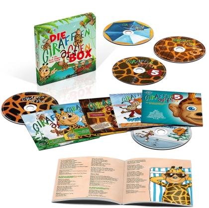 Die Giraffenaffen Box (Limited, 5 CDs)