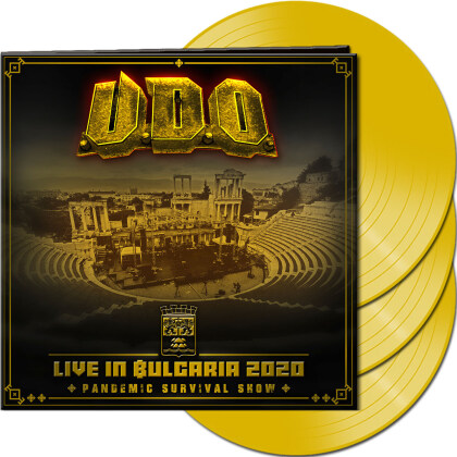 U.D.O. - Live in Bulgaria 2020 - Pandemic Survival Show (Colored, 3 LPs)