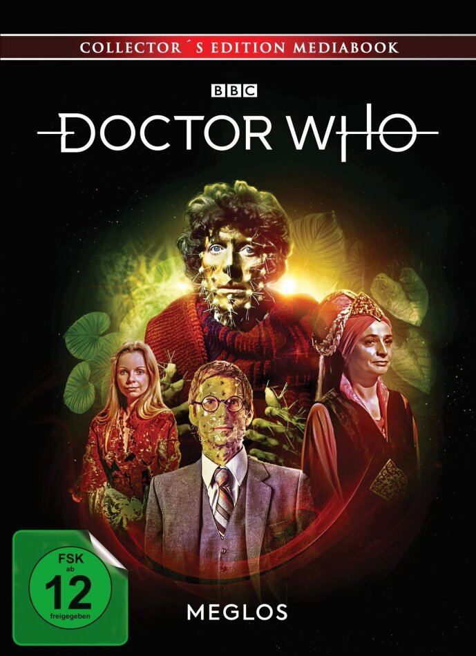 Doctor Who - Vierter Doktor - Meglos (Limited Collector's Edition, Mediabook, Blu-ray + DVD)