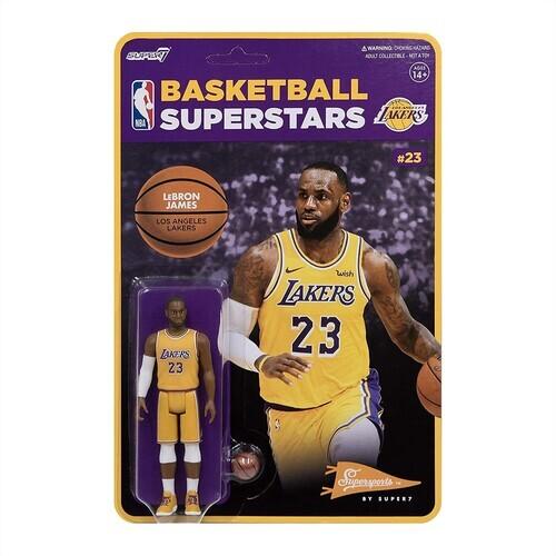 Nba Reaction Figure - Lebron James (Lakers)