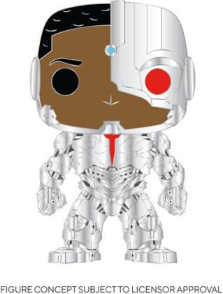 Funko Pop! Pins - Cyborg (Silver Metal)