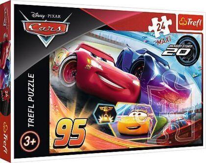 Disney Pixar: Cars - 24 Maxi-Teile Puzzle