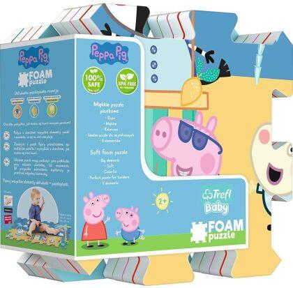 Peppa Pig - 8 Teile Bodenpuzzle