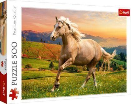 Galoppierendes Pferd - 500 Teile Puzzle