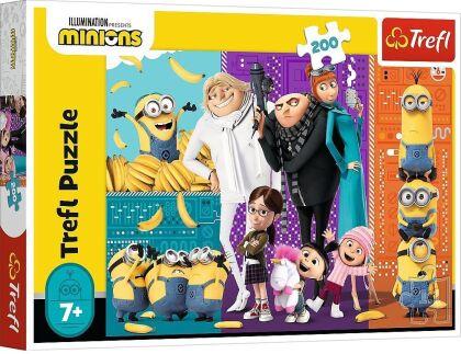 Minions - 200 Teile Puzzle