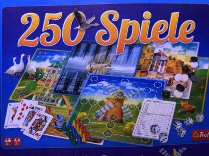 250 Spiele Spielesammlung