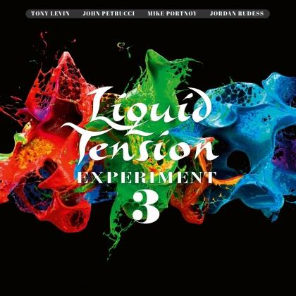 Liquid Tension Experiment - Lte3 (Artbook Edition, 2 CDs + Blu-ray)
