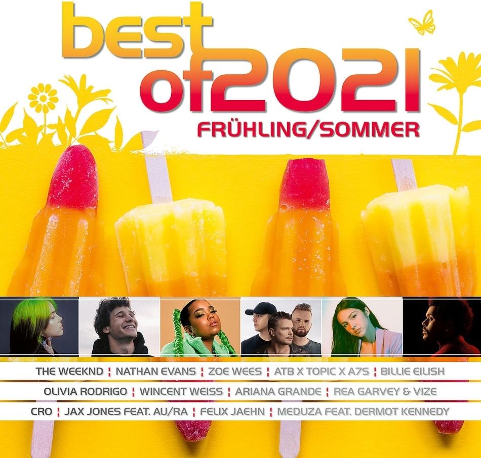 Best Of 2021 - Frühling/Sommer (2 CDs)