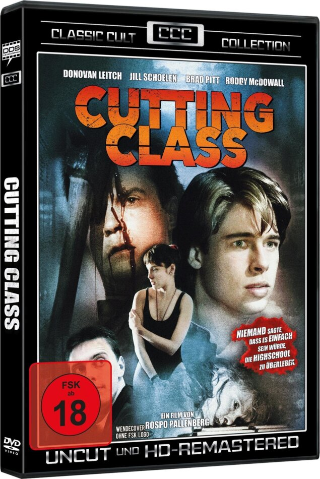 Cutting Class (1989) (Classic Cult Collection, HD-Remastered, Uncut)