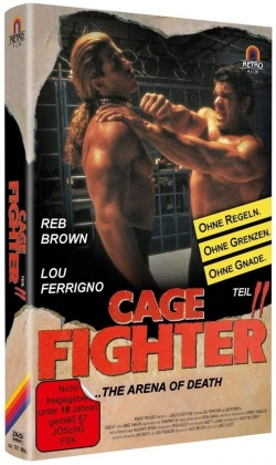 Cage Fighter 2 - The Arena of Death (1994) (Hartbox, Limited Edition)