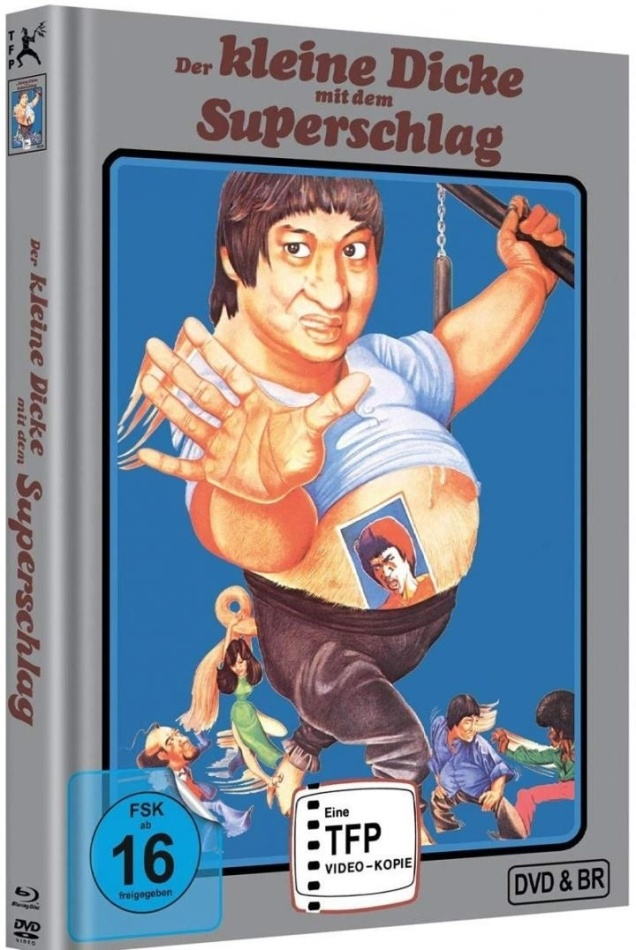 Der kleine Dicke mit dem Superschlag (1978) (Limited Edition, Mediabook, Blu-ray + DVD)