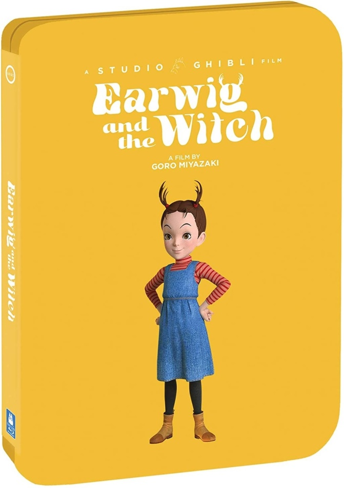 Earwig And The Witch (2020) (Limited Edition, Steelbook)