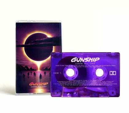 Gunship - Dark All Day (Bonustrack, Transparent Purple MC)