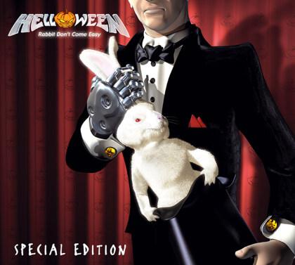 Helloween - Rabbit Don't Come Easy (2021 Reissue, Limited, Orange/Black Vinyl, 2 LPs)