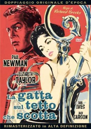 La gatta sul tetto che scotta (1958) (Doppiaggio Originale D'epoca, HD-Remastered, Riedizione)