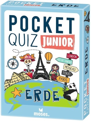 Pocket Quiz junior Erde