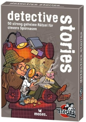 Black Stories Junior - Detective Stories