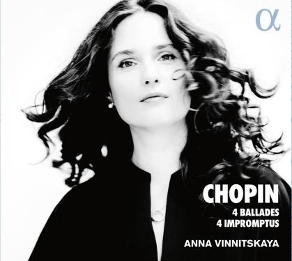 Frédéric Chopin (1810-1849) & Anna Vinnitskaya - 4 Ballades & 4 Impromptus