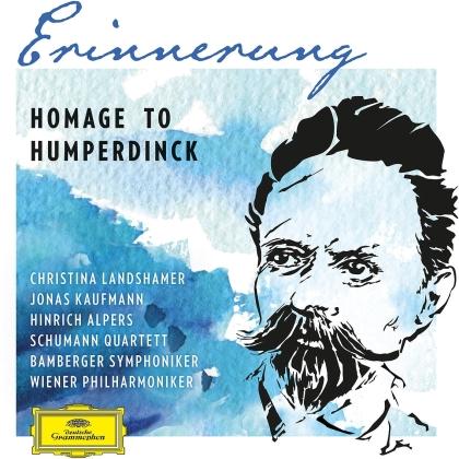 Engelbert Humperdinck (1854-1921), Christina Landshamer, Jonas Kaufmann, Hinrich Alpers, Wiener Philharmoniker, … - Erinnerung - Homage To Humperdinck (2 CDs)