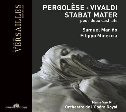 Giovanni Battista Pergolesi (1710-1736), Antonio Vivaldi (1678-1741), Marie van Rhijn, Samuel Marino, Filippo Mineccia, … - Stabat Mater Pour Deux Castrats
