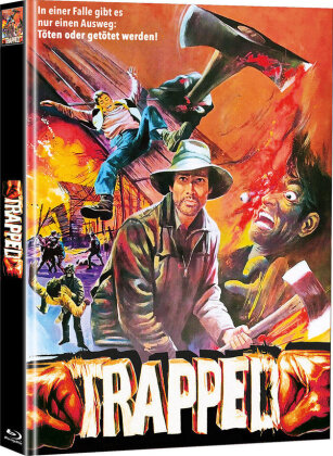 Trapped - Die tödliche Falle (1982) (Cover B, Limited Edition, Mediabook, Blu-ray + DVD)