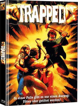 Trapped - Die tödliche Falle (1982) (Cover A, Limited Edition, Mediabook, Blu-ray + DVD)