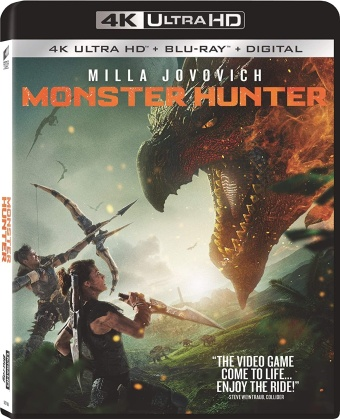 Monster Hunter (2020) (4K Ultra HD + Blu-ray)