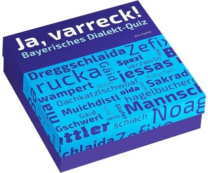Ja varreck! - Bayerisches Dialekt-Quiz