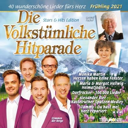 Die Volkstümliche Hitparade (Frühling 2021) (2 CDs)