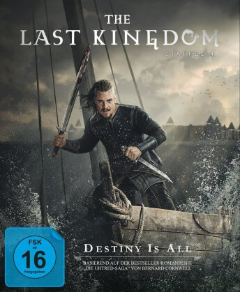 The Last Kingdom - Staffel 4 (4 Blu-rays)