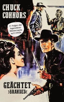 Geächtet - Branded - 11 Folgen der legendären Westernserie (Grosse Hartbox, Limited Edition, 2 DVDs)