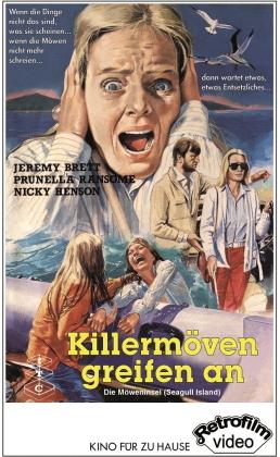 Killermöven greifen an - Die Möweninsel (1981) (Grosse Hartbox, Cover B, Limited Edition, 2 DVDs)