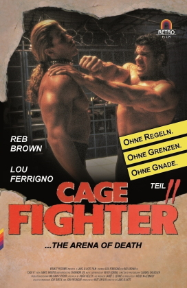 Cage Fighter 2 (1994) (Grosse Hartbox, Limited Edition)