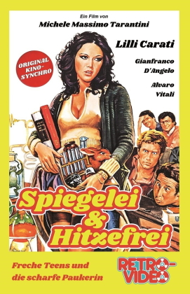 Spiegelei & Hitzefrei - Freche Teens und die scharfe Paukerin (1976) (Grosse Hartbox, Limited Edition)