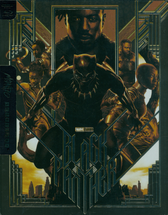 Black Panther (2018) (Mondo, Limited Edition, Steelbook, 4K Ultra HD + Blu-ray)