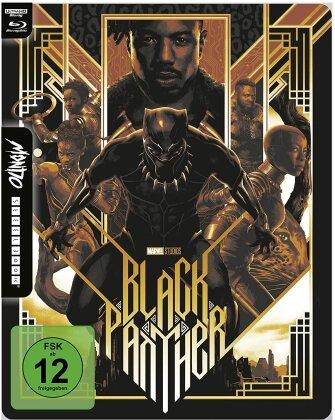 Black Panther (2018) (Mondo, Limited Edition, Steelbook, 4K Ultra HD + Blu-ray)