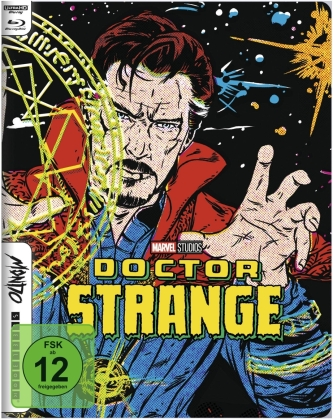 Doctor Strange (2016) (Mondo, Limited Edition, Steelbook, 4K Ultra HD + Blu-ray)