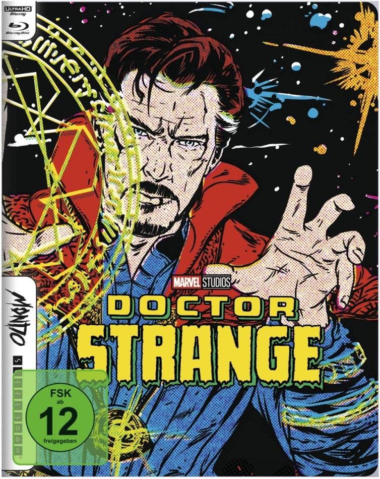 Doctor Strange (2016) (Mondo, Limited Edition, Steelbook, 4K Ultra HD + Blu-ray)
