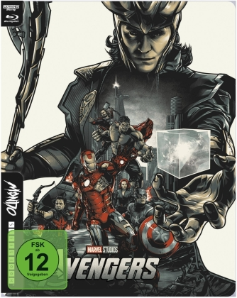 The Avengers (2012) (Mondo, Limited Edition, Steelbook, 4K Ultra HD + Blu-ray)