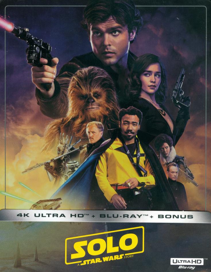 Solo - A Star Wars Story (2018) (Limited Edition, Steelbook, 4K Ultra HD + 2 Blu-rays)